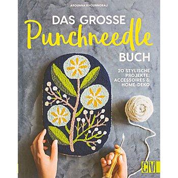 Buch 'Das grosse Punchneedle-Buch – 20 stylische Projekte: Accessoires & Home-Deko'