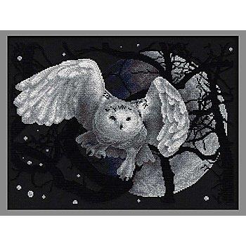 Stickbild 'Mystische Eule', 36 x 27 cm