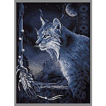 Stickbild 'Luchs-Legende', 36 x 27 cm