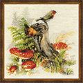 """Stickbild """"Herbst-Impressionen"""", 30 x 30 cm"""