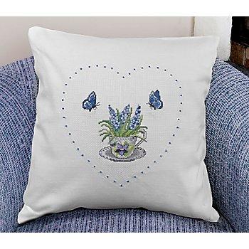 Stickkissen 'Lavendel'