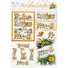 Stickvorlage 'Herbstlandschaften'