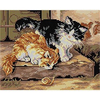 Gobelin 'Kätzchen', 18 x 24 cm
