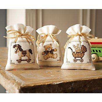 Geschenksäckchen 'Spielzeug', 3er-Set