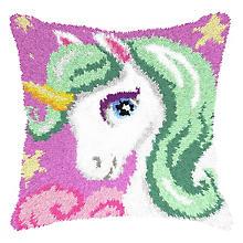 Knüpfkissen 'Sweet Unicorn'