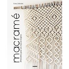 Livre 'macramé - 20 modèles pour une maison inspirée'