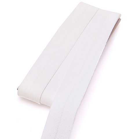 Image of buttinette Baumwoll-Schrägband, ecru, Breite: 2 cm, Länge: 5 m