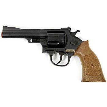 Spielzeugpistole 'Cowboy', schwarz/braun