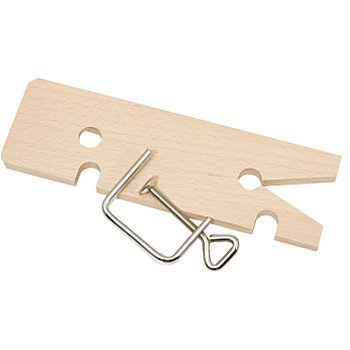 Plaque pour scie à chantourner et serre-joint