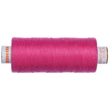 buttinette Universal-Nähgarn, Stärke: 100, 500m-Spule, pink