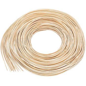 Fil en rotin, plat, 3 mm, 125 g = env. 55 m