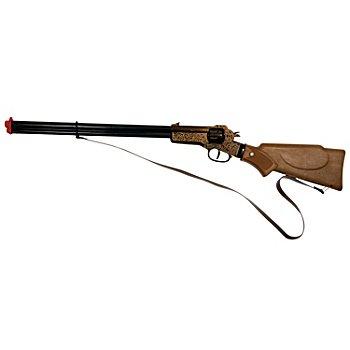 Fusil de cowboy, noir/marron