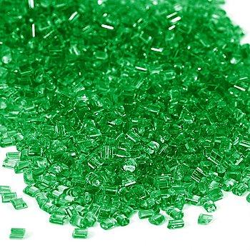Schmelzgranulat (Colouraplast), grasgrün, 100 g