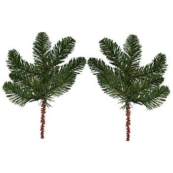 Rameaux de sapin artificiel, 39 cm, 2 pièces