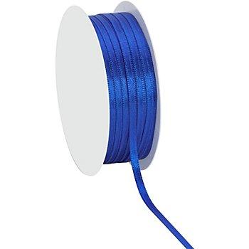 Satinband, royalblau, 3 mm, 20 m