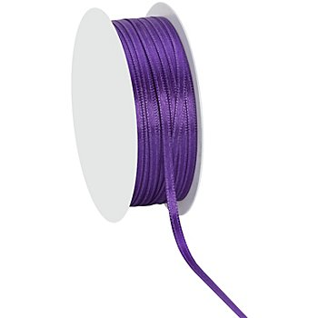 Satinband, lila, 3 mm, 20 m