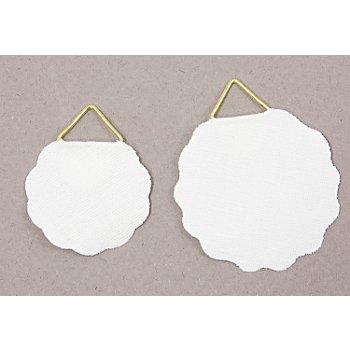 Bildaufhänger, 3,2 cm + 4 cm, 20 Stück