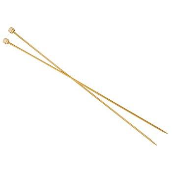 Prym Aiguilles à tricoter, bambou, longueur : 33 m