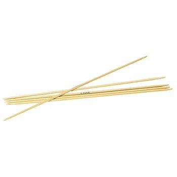 Prym Aiguilles à chaussettes, bambou, 15 cm