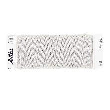 Amann Fil élastique, gris, bobine de 10 m