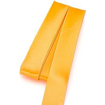 buttinette Satin-Schrägband, gelb, Breite: 2 cm, Länge: 5 m