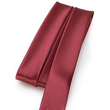 buttinette Satin-Schrägband, bordeaux, Breite: 2 cm, Länge: 5 m