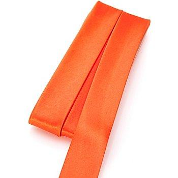 buttinette Satin-Schrägband, orange, Breite: 2 cm, Länge: 5 m
