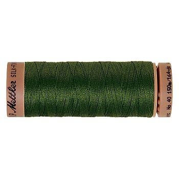 Mettler Silk Finish Cotton Maschinen- & Handquiltgarn, Stärke: 40, 150m-Spule, moosgrün
