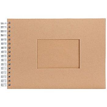 Pappalbum, mit Sichtfenster, 30 x 21 cm, 25 Blatt