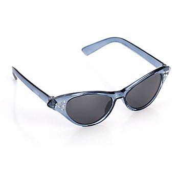 50er Jahre Brille, schwarz