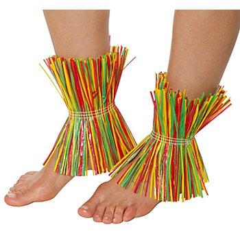 Bracelets de chevilles, multicolore