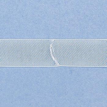 buttinette Raff- und Faltrolloband mit Querschlaufen, Breite: 1,8 cm, Länge: 10m-Rolle