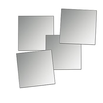 Mosaïque miroir, 5 x 5 cm