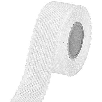 Aida-Stickband, weiß, Breite: 3 cm, 5m-Rolle