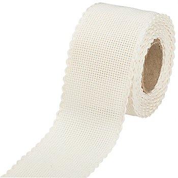 Aida-Stickband, natur, Breite: 5 cm, 5m-Rolle