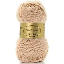 Woll Butt Söckli – Sockengarn, puder