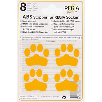 Regia ABS-Sockenstopper, gelb