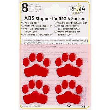 Regia ABS-Sockenstopper, rot