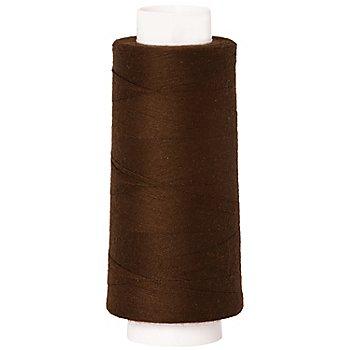 buttinette Fil pour surjeteuse, marron, grosseur : 120, 2500 m