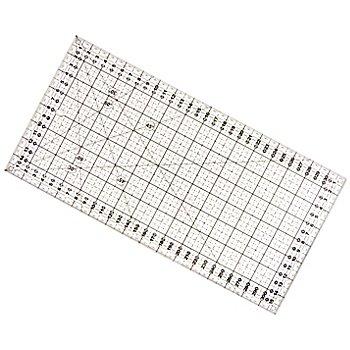 buttinette Règle de découpe, avec graduation en cm, dim. : 16 x 32 cm