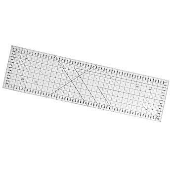 buttinette Règle de découpe, avec graduation en cm, dim. : 16 x 60 cm