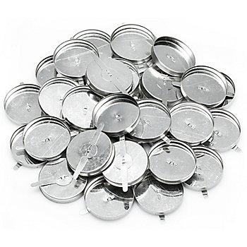 Teelichthalter, 4 cm Ø, 50 Stück