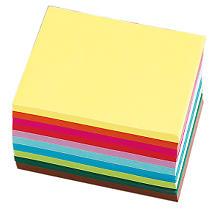 Faltpapier, bunt, 12 x 12 cm, 600 Blatt