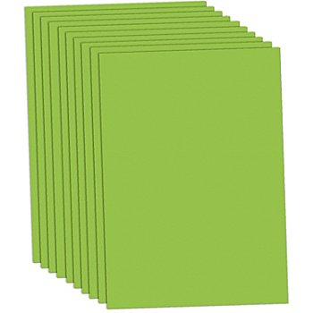 Fotokarton, hellgrün, 50 x 70 cm, 10 Blatt