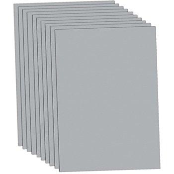 Tonzeichenpapier, silber, 50 x 70 cm, 10 Blatt