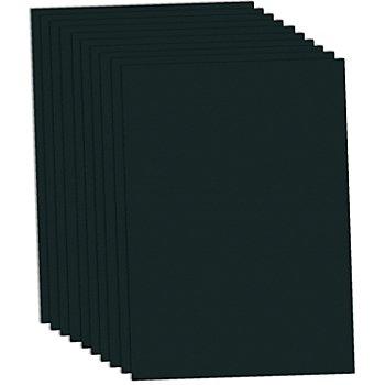 Papier à dessin, noir, 50 x 70 cm, 10 feuilles