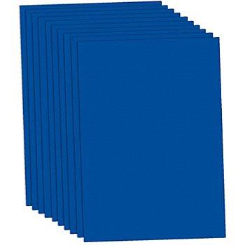 Papier à dessin, bleu foncé, 50 x 70 cm, 10 feuilles
