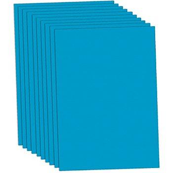 Papier à dessin, bleu clair, 50 x 70 cm, 10 feuilles