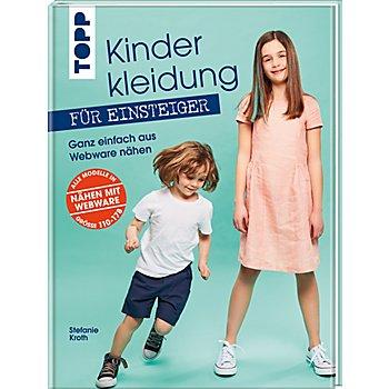 Buch 'Kinderkleidung für Einsteiger – Ganz einfach aus Webware nähen'