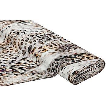Stretch-Gabardine 'Leo', braun-color